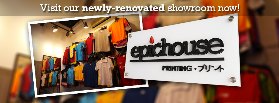 Epichouse T-Shirt Printing Showroom