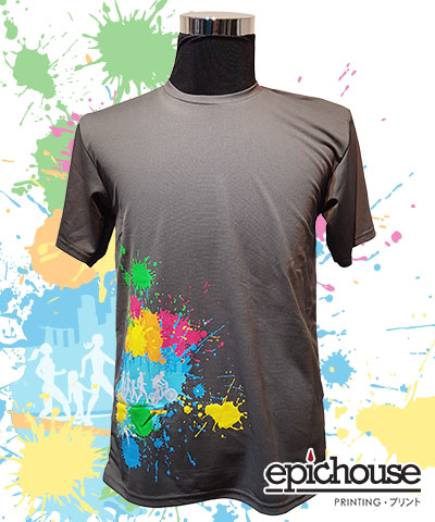 Multiple Colours T-Shirt Printing
